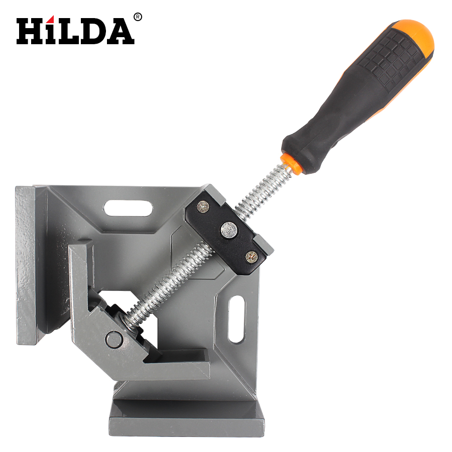 90 Degree Corner Right Angle Carbide Vice Clamps Woodworking Clip DIY Photo Frame Aquarium Furniture Frame Gussets Tools цена 2017