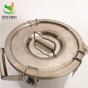 Image 4 - 170L Straight Barrel  with Cover, Milk Can ,Stainless Steel Milk Bucket, Liquild Container