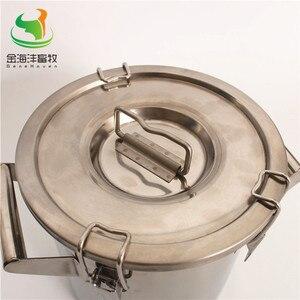 Image 4 - Barril recto de 170L con tapa, lata de leche, Cubo de leche de acero inoxidable, contenedor Liquild