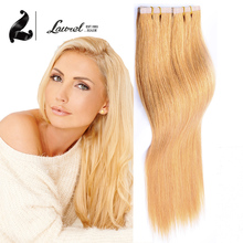 Laurel Cheap Tape In Hair Extensions 16″ 18″ 20″ Inch 20Pcs/50G Thick Hair Extensions Skin Weft Colorful Tape Hair Extension #17
