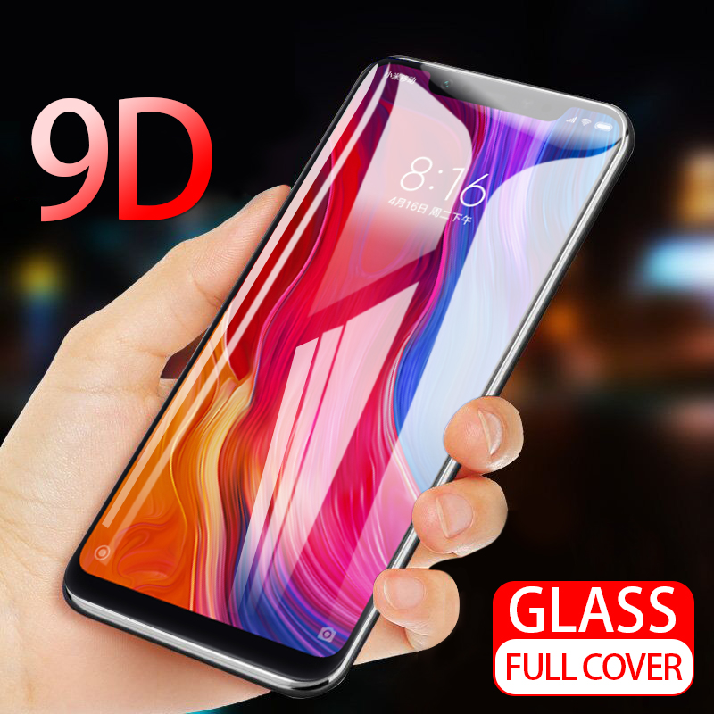 9D Tempered Glass For OPPO A3 A3S A5 A7 AX5 AX7 A5S C1 Screen Protector Full Cover On The For F5 F7 R15 R17 Pro Full Cover Film