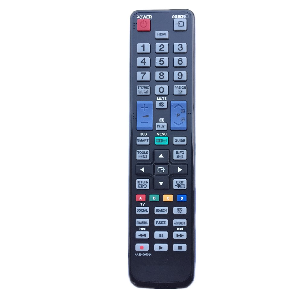 AA59-00507A Remote Control For Samsung TV With 3D Buttons Universal AA59-00508A AA59-00509A AA59-00540A tv remote control for samsung remote control aa59 00784c un55f8000bfxza un60f6350 un60f6350af 3d smart tv fw1s