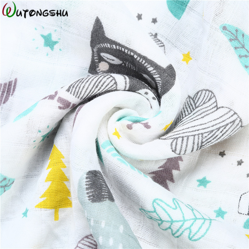Muslin 100% Cotton Baby Stroller Cover Baby Swaddles Soft Newborn Blankets Infants Protection Mesh Stroller Accessories