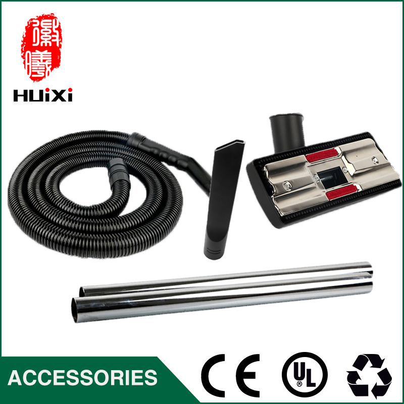 Outer Diameter 40mm Vacuum Cleaner EVA Hose + Straight pipe+Floor brush and nozzle for 15L 30L Industrial Vacuum Cleaner parts industrial vacuum cleaner parts black pipe eva hose 38mm 45mm genenal hose