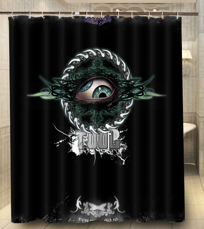 ... Shower Curtain Bathroom Waterproof Eco Friendly. Por Logo Curtains  Cheap Lots From China