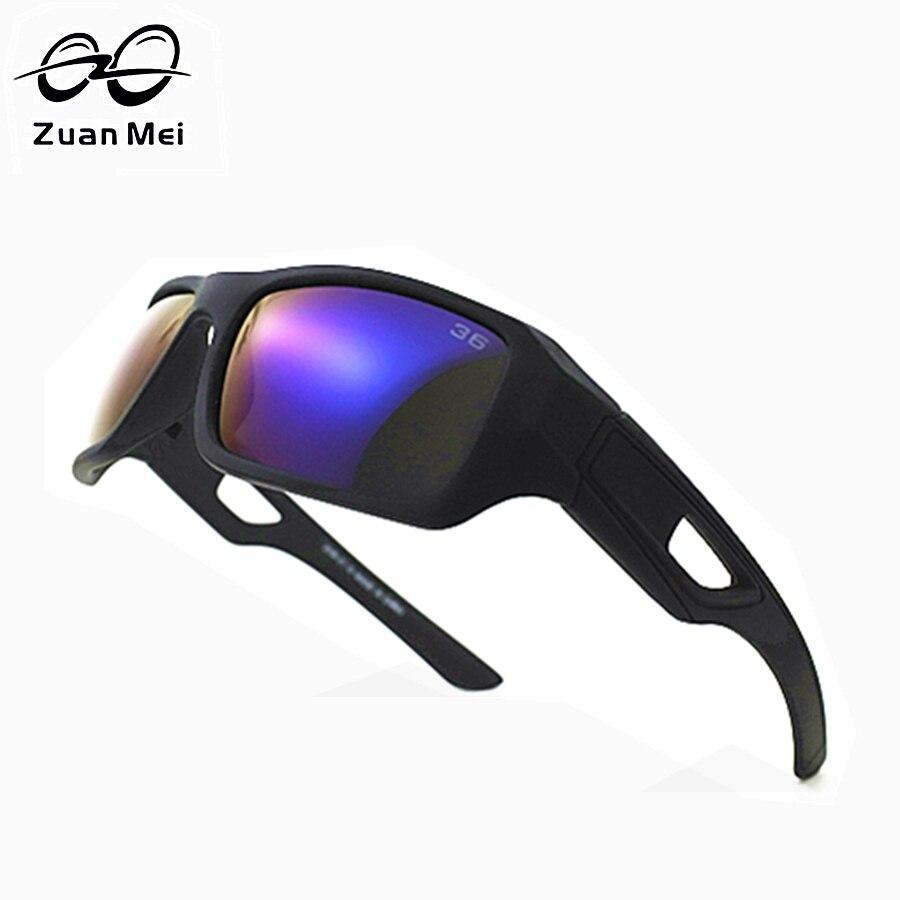 Zuan Mei Marque Lunettes de Soleil Pour Hommes 2017 Vente Chaude lunettes de Soleil Polarisées Hommes Conduite De Vision Nocturne Polarisée Lunettes Femmes Grand-cadre