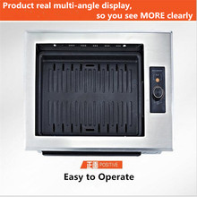 ФОТО Smoke- Non-Stick  Commercial Korean Infrared Electric Oven Korean  Barbecue Grill ON Paper