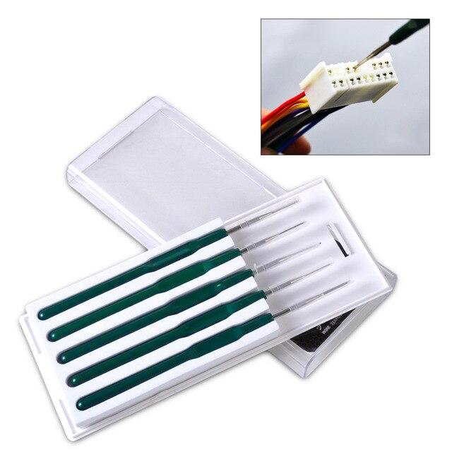 beler DIY 5pcs Car Cable Wire Terminal Socket Plug Pin Removal ...