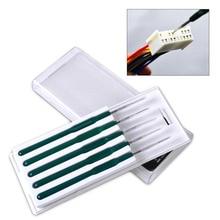 beler DIY 5pcs Car Cable Wire Terminal Socket Plug Pin Removal Dismount Tool Kit for VW Polo Audi A4 Toyota RAV4 BMW F01 Benz