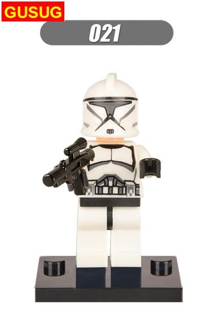 GUSUG 50PCS XH021 Clone Trooper Building blocks Bricks best gift DIY Baby Toys