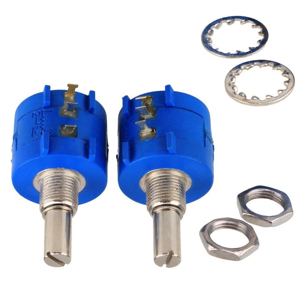 10K Cropland Bridge 3590S Precision Potentiometer Adjustable Resistor 10 Ring Free Shipping 3590S 2 103L