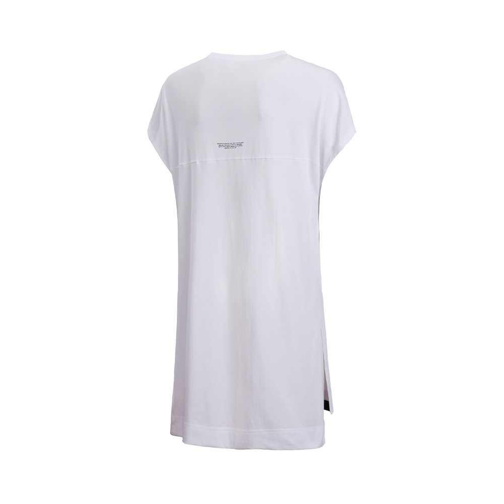 (Break Code) li-Ning Vrouwen Basketbal Vest 100% Katoen Losse Fit Mouwloze T-shirt Voering Li Ning Sport Tops AVSN032 WBS301