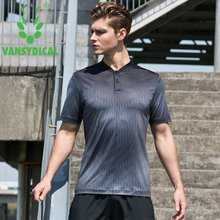 Running Sport Men T-shirt O-Neck Short Sleeve Sports Top Men Running Breathable Tee Shirts Gym Exercise Sport Tshirts