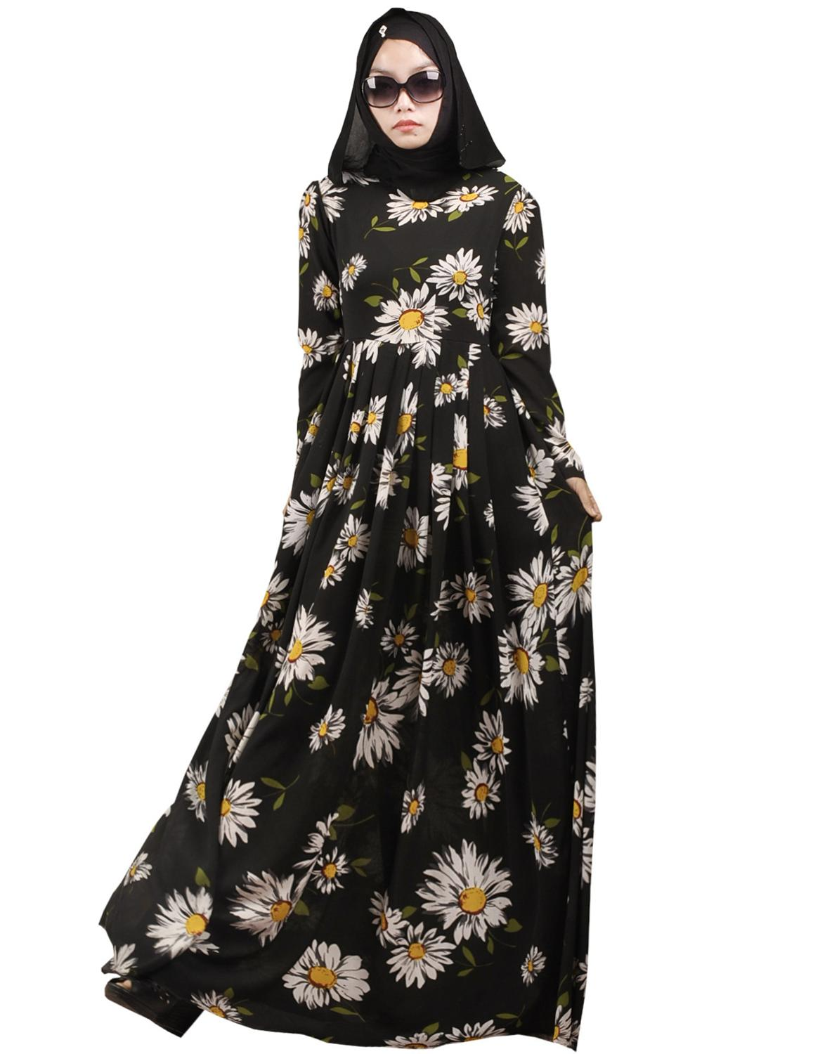 Online Buy Wholesale printed abaya from China printed ...