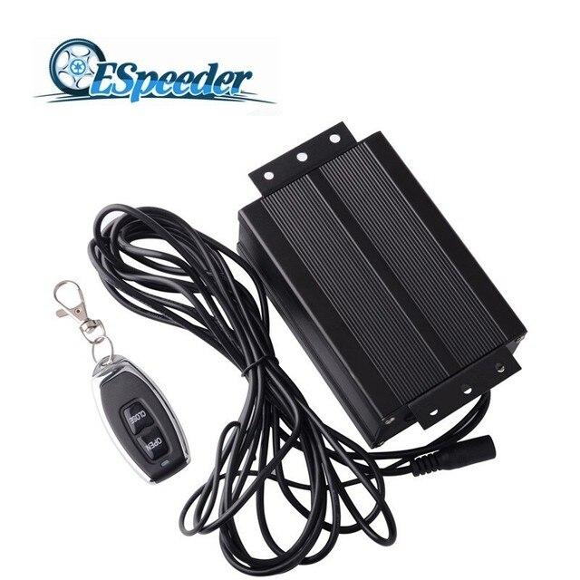 ESPEEDER Elektrische Luftpumpe Box Vakuum Pumpe Ventil Mit Edelstahl Boost Aktiviert Auspuff Ausschnitt System Elektrische Controller