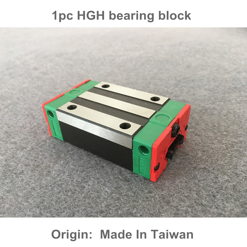 Free shipping 1pc HGH15/20/25/30CA 100% New Original HIWIN linear guide blocks HIWIN linear Rails linear guide rails hgh hgl egh15 20 25 30 35 sa ha ca