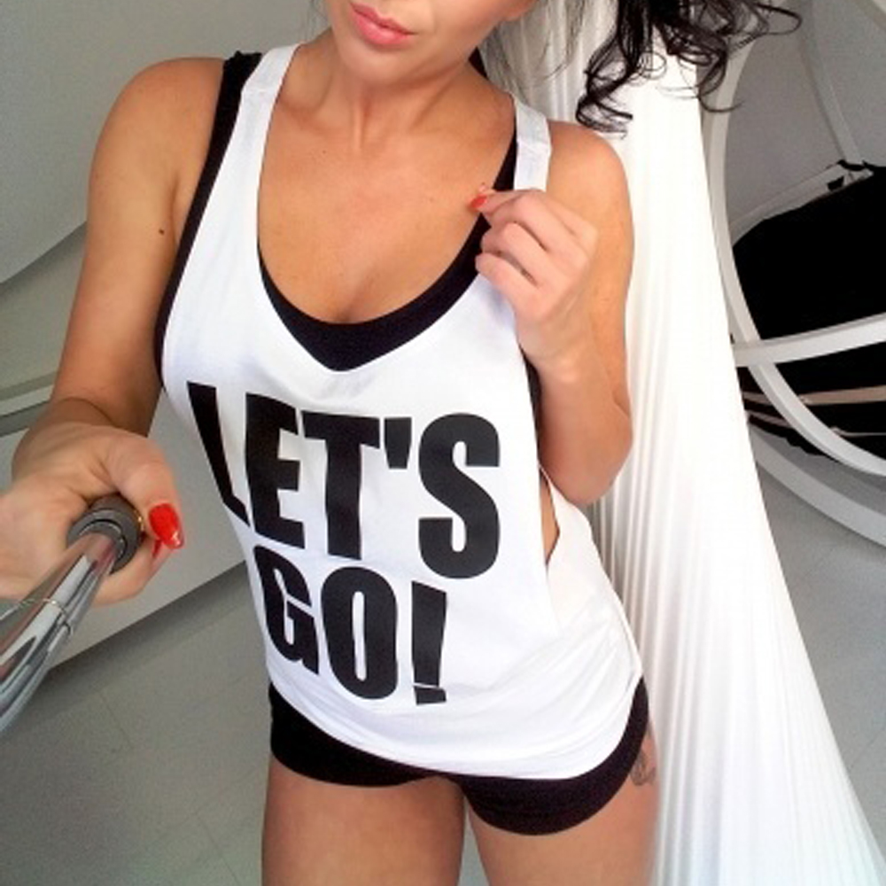 Women Workout Yoga Top Elegant Ladies Tank Loose Fitness Running Vest Gym Sports Sleeveless Yoga Shirts Sport Wear