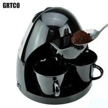 Полностью Автоматические Любителей Кофе Машины 220 В 2 Чашек Капельного Кофеварка Американский Кофе Машин