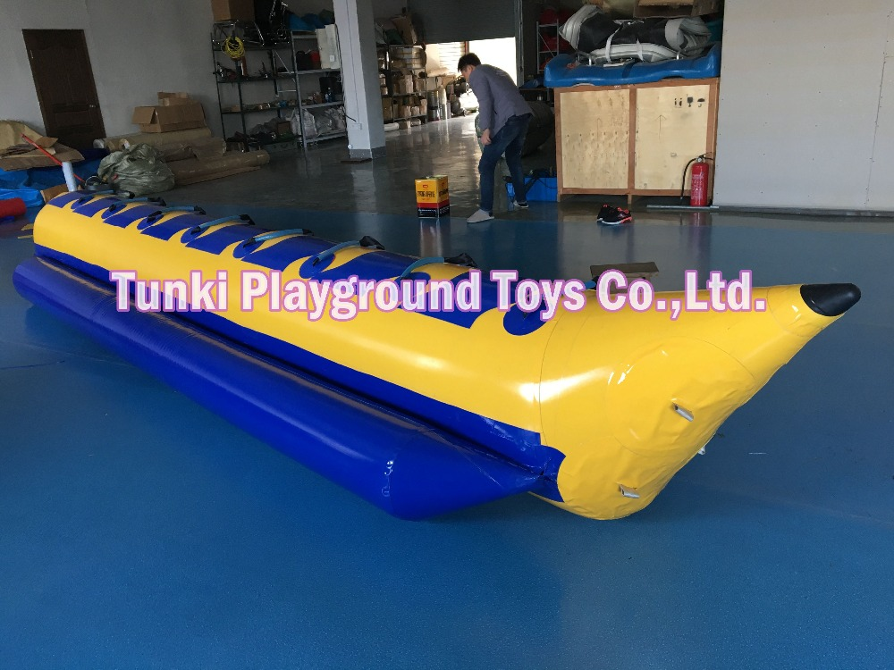 inflatable water game banana boat