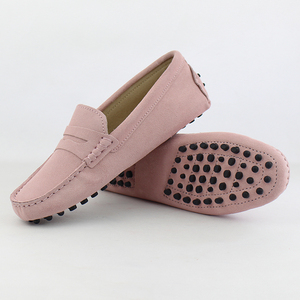 Image 5 - 2020 Top Fashion Womens Flat Shoes Genuine Leather Woman Shoes Flats Casual Loafers Soft Slip On Moccasins Lady Driving Shoes