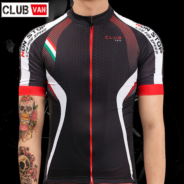 clubvan 2018 Cycling Jersey Mtb Bicycle Clothing Bike Wear Clothes Short  Maillot Roupa Ropa De Ciclismo Hombre Verano  A2-in Cycling Jerseys from  Sports ... 22eed2b0a