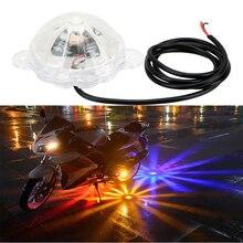 LEEPEE мотоцикл вспышка стробоскоп свет атмосферная лампа мото шасси свет мотоцикл освещение DC 12 В светодиодная интерьерная подсветка