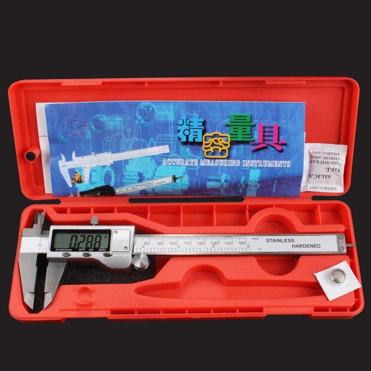 0 150mm 6 200mm 8 300mm 12 Stalinless Steel casing Digital CALIPER VERNIER caliper metal digital