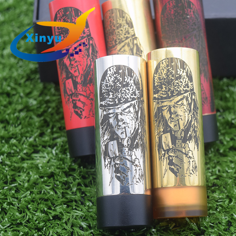 pandora Mech Mod Slim Piece <font><b>QP</b></font> <font><b>KALI</b></font> <font><b>v2</b></font> <font><b>RDA</b></font> 18650 Battery 26mm Mechanical Vaporizer Slam Piece Vape Pen Mod image