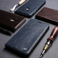 For Huawei Mate9 Pro Wallet Genuine Leather Phone Cases For Huawei Mate9 Pro Top Quality Flip
