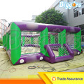 Sea Shipping Giant Commercial Inflatable Kids Soccer Court Football Field With Blowers