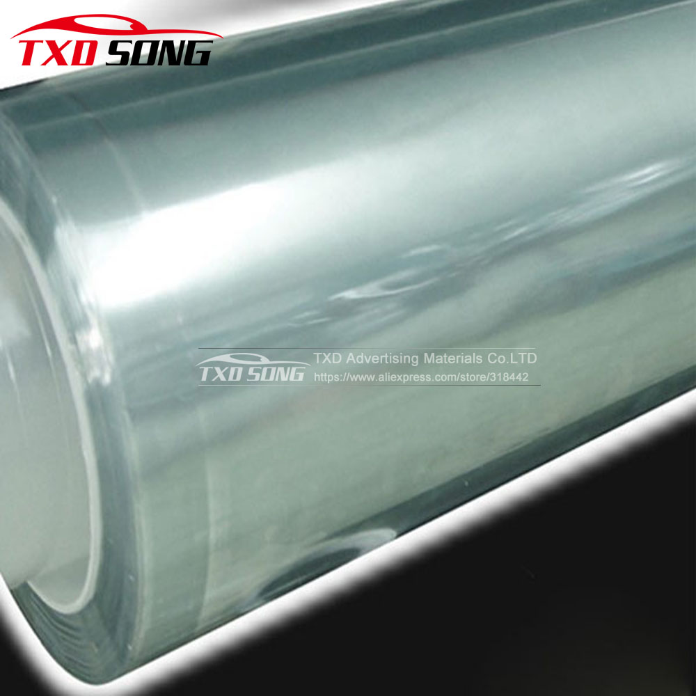 Super qualité 3 Couches Transparent Auto Anti-Scratch Peinture film de protection Pour Auto peinture de voiture film de protection Taille: 1.52*30 m/Rouleau