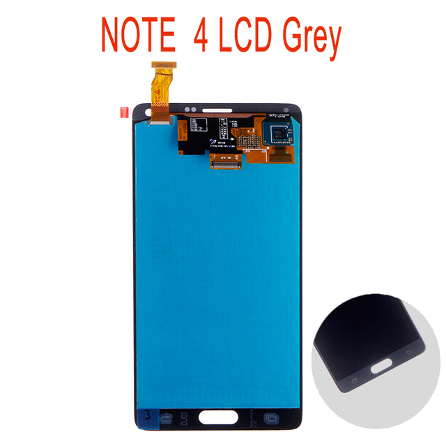 Do Samsung Galaxy Note 4 Note4 N910C N910 N910A N910F wyświetlacz LCD ekran dotykowy digitizer montaż wymiana
