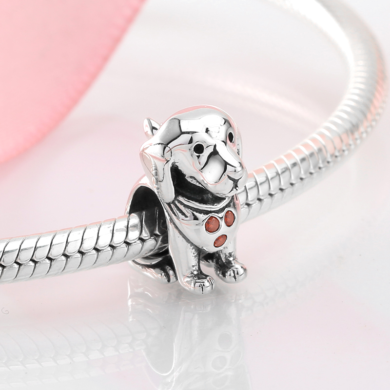 DALARAN Heißer Schmuck 925 Sterling Silber Zircons Ringe U Form mit Pearl Ring