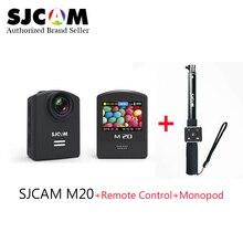 Original SJCAM M20 Wifi Super Mini Gyro Action Video Camera 4K 24fps16MP Waterproof helmet camera with Remote Control + Monopod