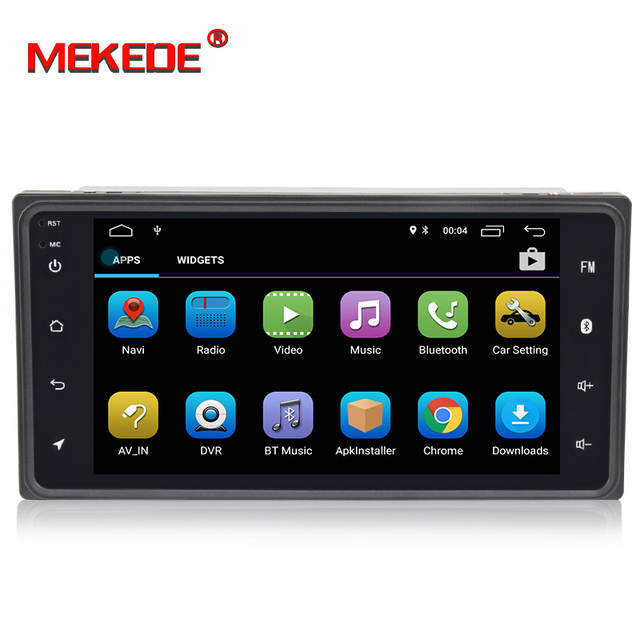 US $165 0 |MEKEDE Android 8 1 car dvd for toyota corolla Hilux Vios Old  Camry Rav4 car radio with navigation BT Wifi car stereo gps player-in Car