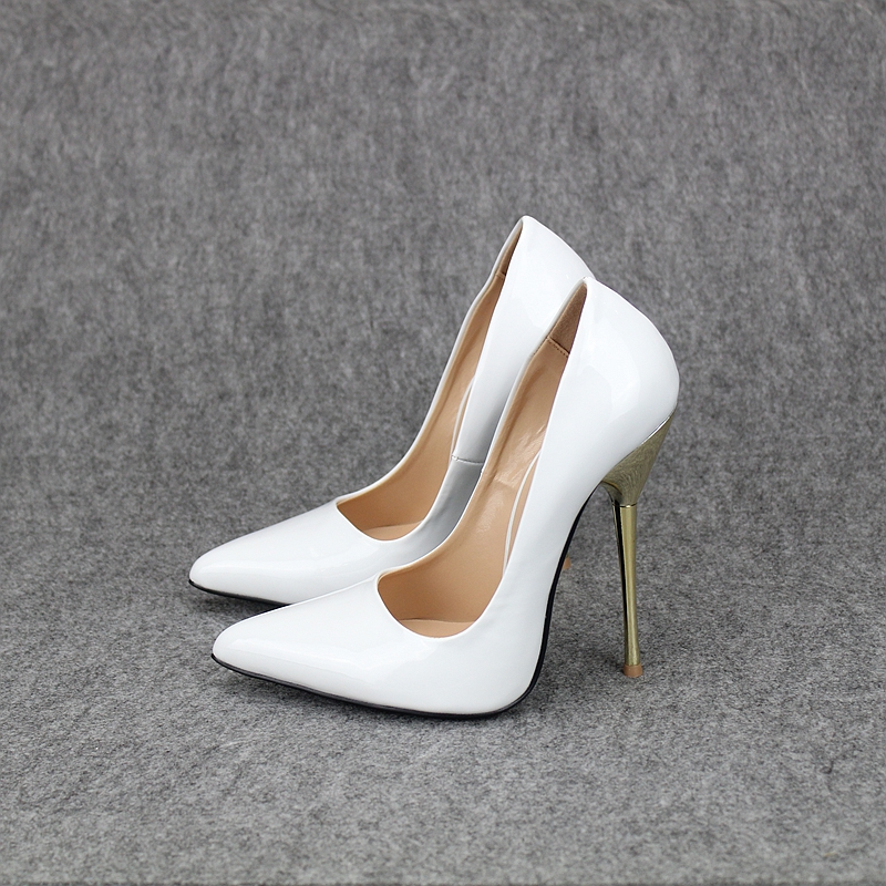 2017 Fashion White Pointed Toe Extreme High Heels Sexy Women Pumps Stiletto Wedding Party Dress Shoes Fetish High Heel Plus Size new industrial safety full face gas mask chemical breathing mask paint dust respirator workplace safety