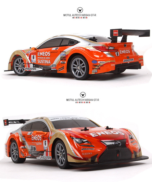 RC Car For GTR/Lexus 4WD Drift Racing Car Championship 2.4G Off Road Rockstar Radio Remote Control Vehicle Electronic Hobby Toys 6