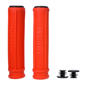 Image 4 - 1Pair ZTTO Pure Silicone Gel Durable Shock Proof Anti Slip Grips for MTB Mountain Bike Road Bicycle Fixed Gear BMX with Bar Plug