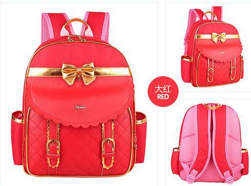 girls red backpack Backpack Tools