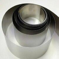 99 9 Purity 0 1mm 100mm 1000mm Ta2 Titanium Foil Tape Strip Sheet