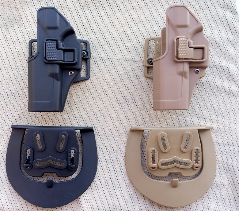 100 genuine Military Army Tactical paintball gun quality adjustable holster fir for Glock 17 22 31