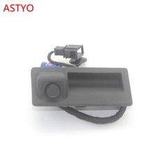 Astyo rns310 RNS315 RCD510 RNS510 заднего вида Камера + Кабели комплект для VW Passat B7 Jetta MK6 Tiguan TOUAREG