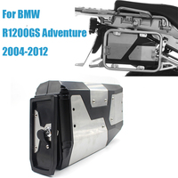 For BMW R1200GS Decorative 4.2 liters Aluminum tool box For BMW R1200 GS R 1250 GS Adventure ADV 2004 2012