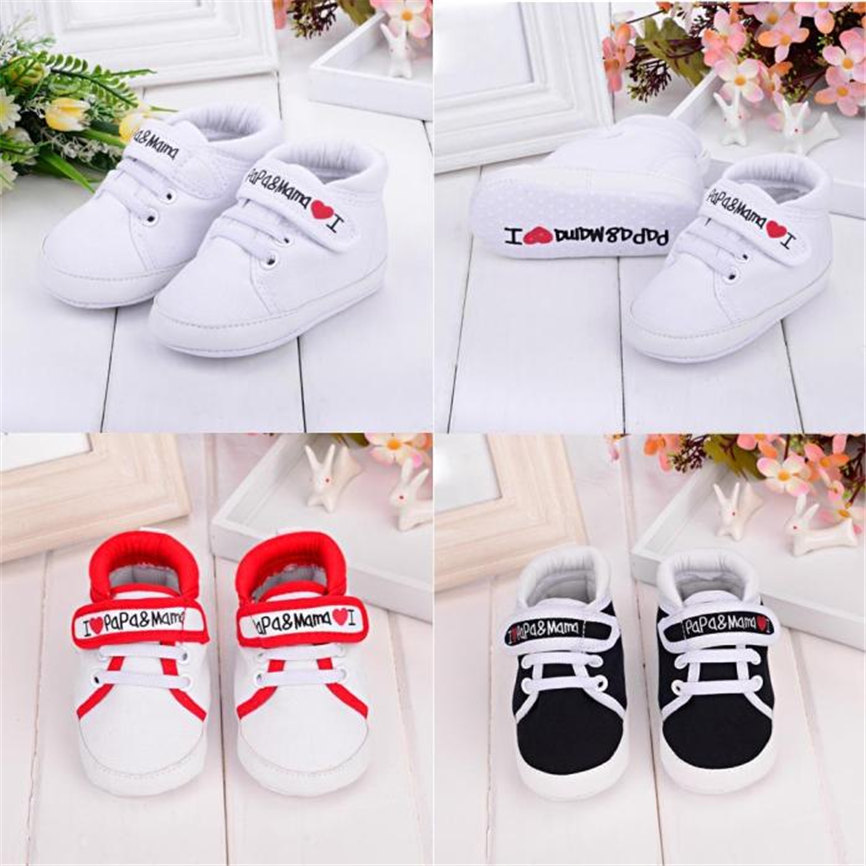 Baby Infant Kid Boy Girl Soft Sole Canvas Sneaker Toddler Shoes Anti-slip Pricness Shoes For Party*Wedding Dropshipping 0208