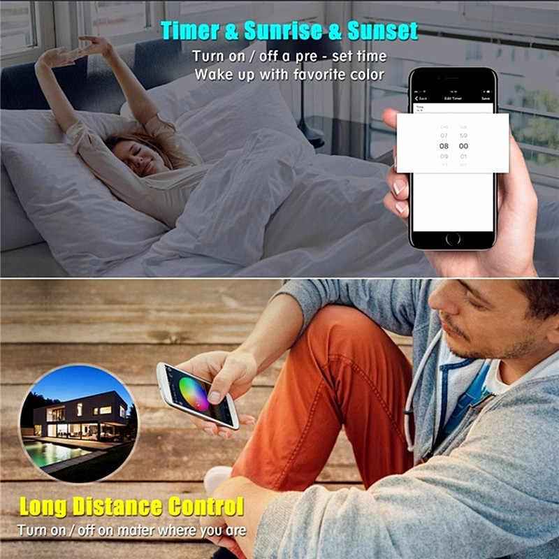 Mini DC 5 V 12 V 24 V de LED de contrôle à la maison magique de Wifi Bluetooth rvb RGBW avec la télécommande de RF 21Key IR 24Key pour des lumières de bande de LED