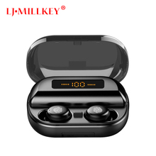 TWS 5.0 Wireless Bluetooth Earphone Stereo Earbud Headset With Charging Box For All Bluetooth tablet Smart phone earphone YZ274 tws 5 0 wireless bluetooth earphone stereo earbud headset with charging box for all bluetooth tablet smart phone earphone yz268