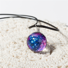 Best Crystal Ball Necklaces Glass Galaxy Cheap