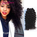 mogolian kinky curly virgin hair 3pcs/lot 6A unprocessed Afro kinky hair bundles color 1B,100% human hair weaves aliexpress uk