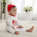 Baby clothes milk bottle costumes baby sleep romper +hat spring autumn infant toddler boys girls long sleeve cute jumpers