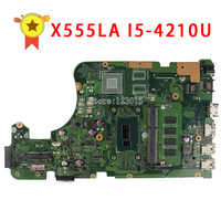 For ASUS X555LD X555LA Laptop Motherboard X555ID Rev2 0 I5 4210U Processor Mainboard Cpu 100 Tested